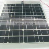 50W Semi-flex solar 780*570*2.5mm boat semi flexible solar