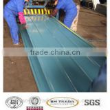 ASTM A653 DX51D+Z gi ppgi walls clading and roofings used galvanized corrugated steel sheet