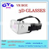 VR Box II 2.0 Google Cardboard Headset Glasses Mount Oculus Rift 3D Games Headset VR Virtual Reality 3D Glasses with gamepad