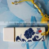 Ceramics USB OEM Gift Ceramics USB Disk can brand your own logo without logo fee free design USB Driver 2.0