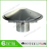 Galvanized steel mushroom vent cap,round roof vent cap for sale
