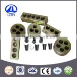 high quality metal mono-strand wedge anchorage round fasteners