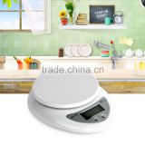 2016 Popular New 5000g/1g 5kg Food Diet Postal Kitchen Digital Scale scales balance weight weighting LED electronic