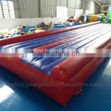 Gymnastics inflatable tumble track indoor GYM tumble air mattress for chidlren and adults