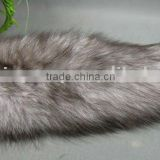 Hot-selling blue frost fox tail (really natural fox fur) use for bag hanging or keychain