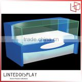Factory price acrylic/class display for mobile phone shop decoration