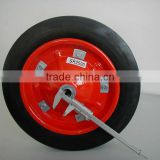 Solid Rubber Wheel for Wheelbarrow / Wheelbarrow Solid Tyre / Wheelbarrow Solid Rubber Tires