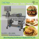 TOP QUALITY COMMERCIAL burger chicken patty machine/automatic burger patty maker