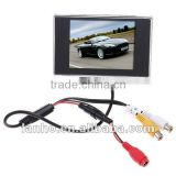 "NEW 3.5"" TFT LCD Color Screen Car Rearview Monitor DVD VCR"