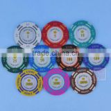 Custom round europe plastic Customize military coin challenge coin