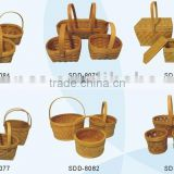 chipwood packaging basket, wooden basket, picnic hamper, hot selling product neoteric design best quality low price