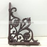Custom High Quality Antique Triangle Cast Iron wall Bracket