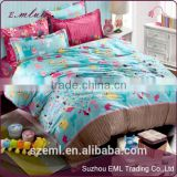 Bedding set 4pcs cotton duvet quilt covers bed sheet comforters bedclothes coverlet bedcover