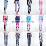 Fashion Athletic Women Sports Yoga Pants Elastic Tights Leggings Fitness Jogging Trousers Female Gym Training Running Sportswear
