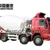 Sinotruk HOWO Mixer Truck 8*4 EUROⅡ Medium Length Cab