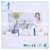 candy packing promotional nonwoven fabric compressed round mini coin disposable tissue for face clean towels or napkin