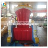Cheap king throne chair,PVC inflatable throne chair