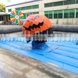 2015 Inflatable mechanical pumpkin Rides for bull rodeo interchange in different events