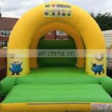 2016 Good quality inflatable bouncy castle with water slide / inflatable air castle for sale