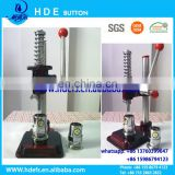 cloth covered button manual machine