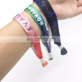 5sos fabric printing wristband personalized fabric wristbands