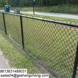 Pvc coated 50x50 chain link fabric cyclone fence