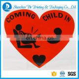 Coming Child In Sticker Car Warning Sticker Reflective Sticker
