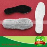 Respirable sheep wool insoles for winter boots Wholesale Australian Sheepskin Wool Boot Insoles Shoe Bottom Foot Warmer Insole