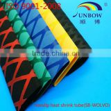 with iso9001-2008 standard flexible electrical insulation heat shrink fishing rod sleeves