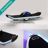 2016 Wholesale hoverboard New design flash LED light one wheel electric skateboard self balancing electric unicycle scooter