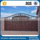 Factory Direct Sales Front Steel Main Gate Design For Home