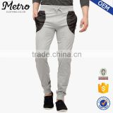 new fashion custom mens slim fit zipper pocket jogging sweatpants                                                                         Quality Choice