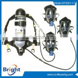 2015 NEW Product! manufacturer hot sale firefighter air breathing apparatus with full face