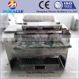 Top Sale Egg grader machine, automatic contrller system chicken eggs grading machines
