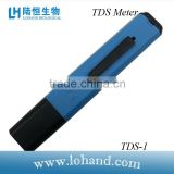 Auto shutoff pen type blue TDS analyzer for drinking water test