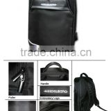 High quality hot sale factory special price Luxuary Business Backpack black color Nylon twill