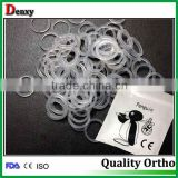 Manufacturer high quality orthodontic products/dental elastic bands /orthodontics elastics