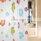 PVC Custom Printed Shower Curtain Liner
