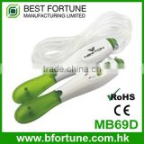 MB69D_GN Green color LCD display Colorful Children digital Skipping rope