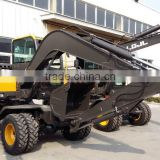 Atv Backhoe Excavator, Excavator for Sale, Excavator Parts, LG680 Excavator, Walking Wheel Excavator, 8T Wheel Excavator