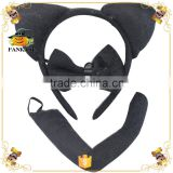 Sexy cat ears headband set fancy dress costume accessory
