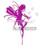 Pink Angel wall sticker decal with transfer film