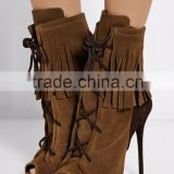 Manufacturers of ladies sandals boots shoes women sexy fashion sandals shoes peep toe boots women fashion