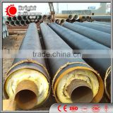 prefabricated thermal insulation spiral steel pipe