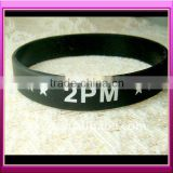 Soft pvc wristband with 3D cartoon shape