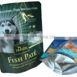 Standing Up Pouches Retort Wet Pet Food Bags