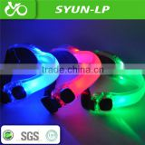 velcro quick release road bmx mtb common use bike bicycle colorful LED band light bicycle led strip light