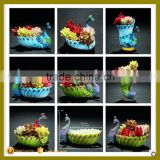 Various shape colorful peacock animals crafts flower pot garden decoration for succulent                                                                                                         Supplier's Choice