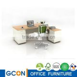 L shape office desk table high quality wooden ceo melamine executive desk