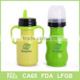 For baby used stainless steel nursing bottle